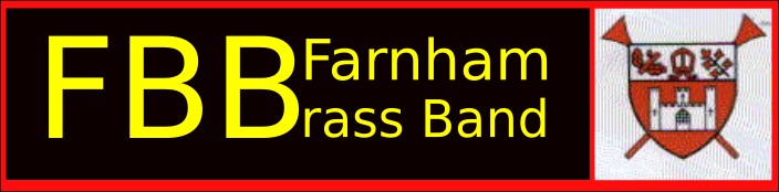 Farnham Brass Band Banner
